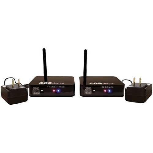 Bic America 4-channel Wireless Audio Transmitter And Receiver System (pack of 1 Ea)