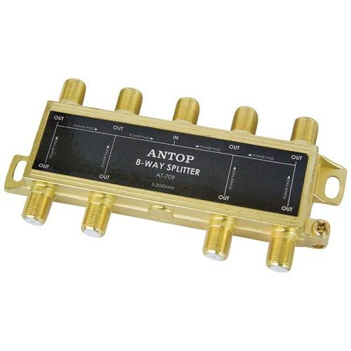 Antop Antenna Inc 8-way 2ghz Low-loss Coaxial Splitter (pack of 1 Ea)