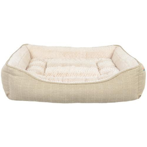 Animal Planet Rectangle Pet Bed (faux Linen) (pack of 1 Ea)