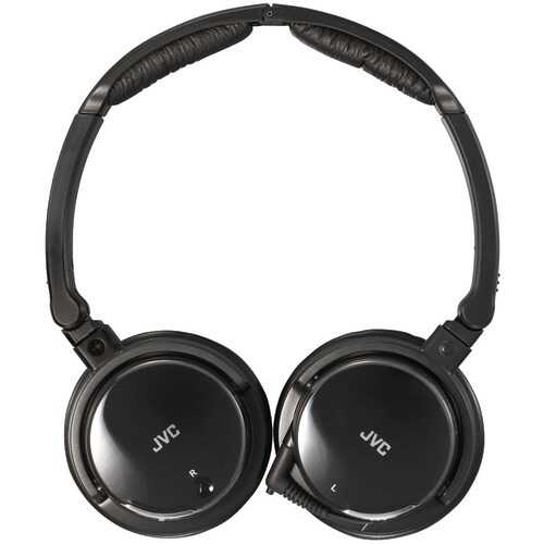 Jvc Noise-cancelling Headphones With Retractable Cord (pack of 1 Ea)