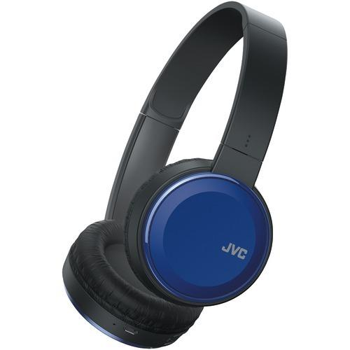 Jvc Colorful Bluetooth Headphones (blue) (pack of 1 Ea)