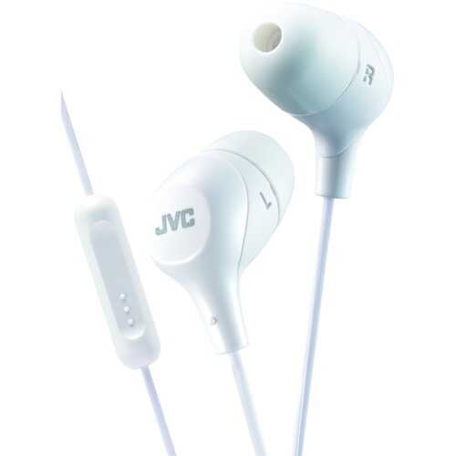 Jvc Marshmallow Inner-ear Headphones With Microphone (yellow) (pack of 1 Ea)