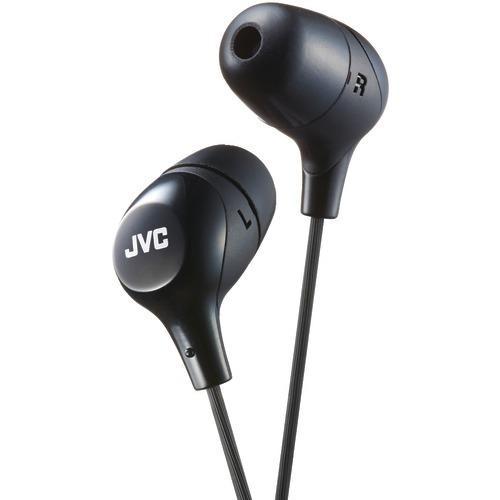 Jvc Marshmallow Inner-ear Headphones (black) (pack of 1 Ea)