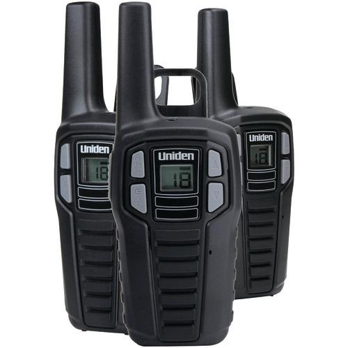 Uniden 16-mile 2-way Frs And Gmrs Radios (3 Pk; With 9 Batteries) (pack of 1 Ea)