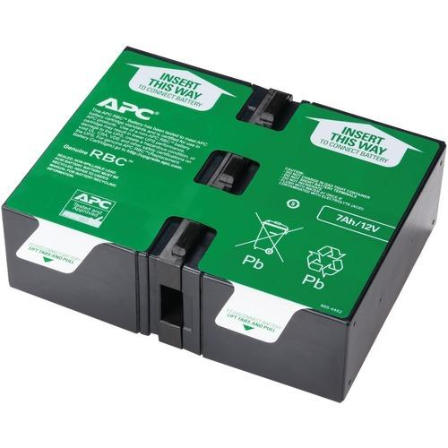 Apc By Schneider Electric Replacement Battery Cartridge #123 (pack of 1 Ea)