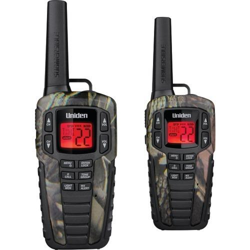 Uniden 37-mile 2-way Frs And Gmrs Radios (gray) (pack of 1 Ea)