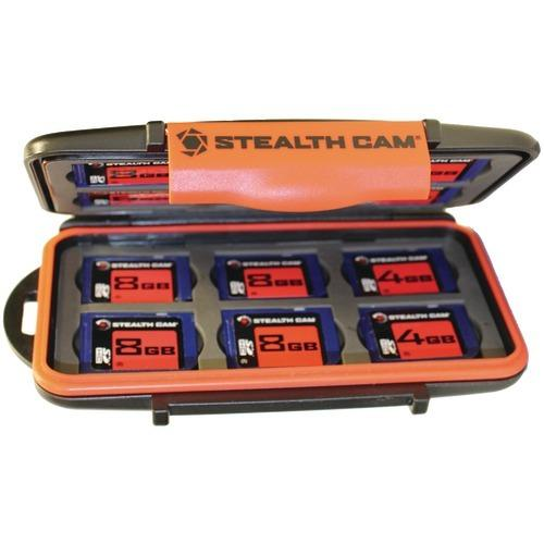 Stealth Cam Memory Card Storage Case (pack of 1 Ea)