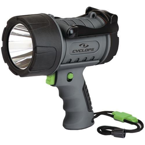 Cyclops 200-lumen Rechargeable Waterproof Spotlight (pack of 1 Ea)