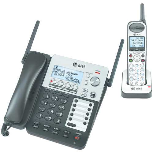 Att Synj 4-line Expandable Business Phone System (pack of 1 Ea)