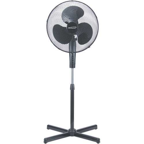 """Brentwood Koolzone 16"""" Oscillating Stand Fan (pack of 1 Ea)"""