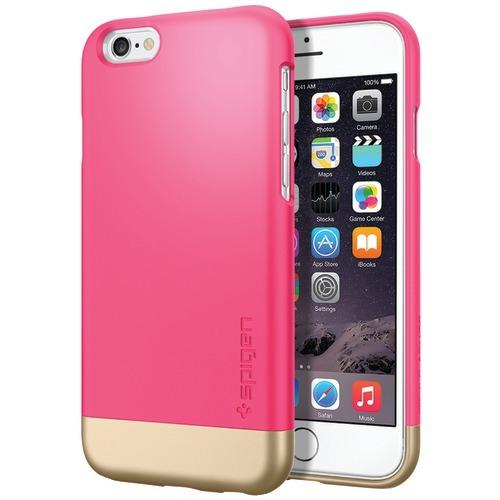 Spigen Style Armor Case For Iphone 6 And 6s (azalea Pink) (pack of 1 Ea)