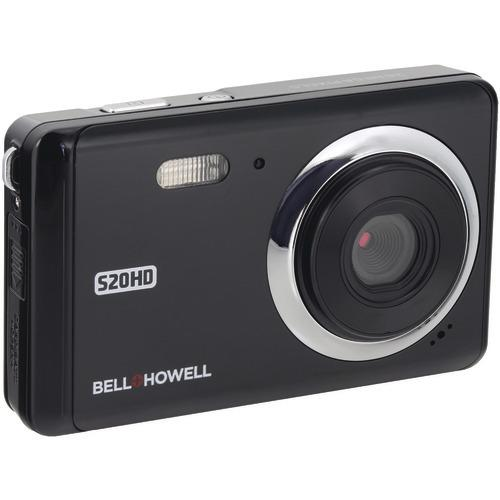 Bell+howell 20-megapixel 1080p Hd S20hd Digital Camera (black) (pack of 1 Ea)