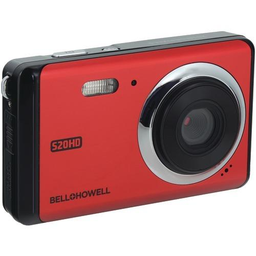 Bell+howell 20-megapixel 1080p Hd S20hd Digital Camera (red) (pack of 1 Ea)
