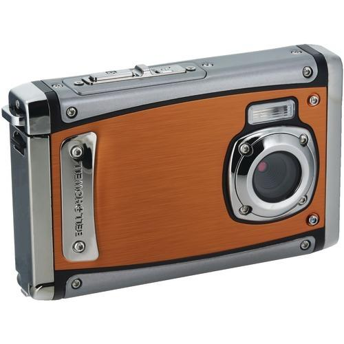 Bell+howell 20-megapixel 1080p Hd Wp20 Splash3 Underwater Digital Camera (orange) (pack of 1 Ea)