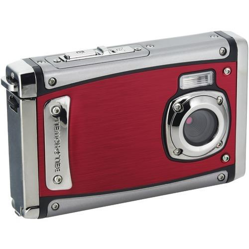 Bell+howell 20-megapixel 1080p Hd Wp20 Splash3 Underwater Digital Camera (red) (pack of 1 Ea)