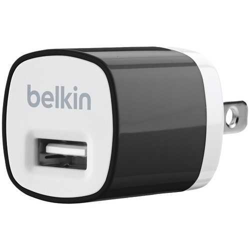 Belkin 1-amp Mixit? Home Charger (black) (pack of 1 Ea)