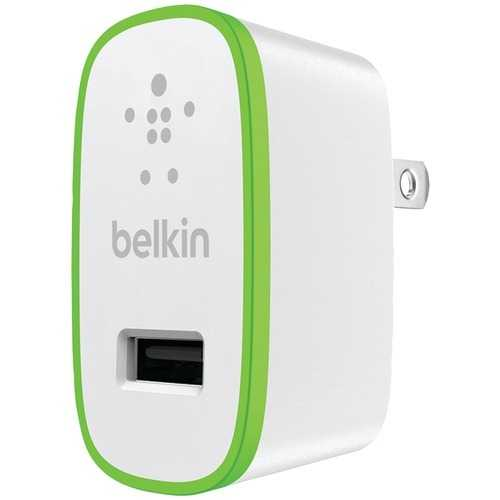 Belkin 2.4-amp Boost Up Home Charger With 4ft Charge & Sync Usb Cable With Lightning Connector (pack of 1 Ea)