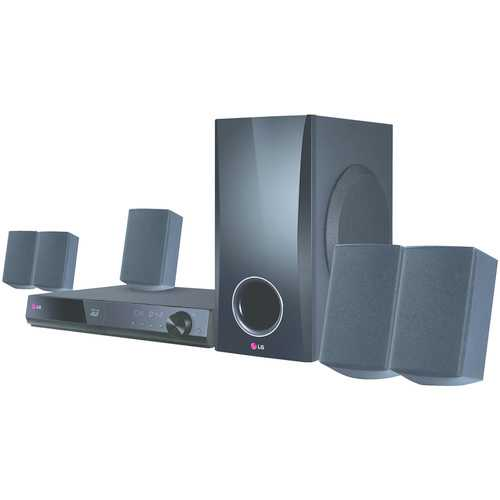 Lg 3d-capable 500-watt 5.1-channel Home Theater System With Blu-ray Disc Player (pack of 1 Ea)