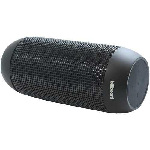 Billboard Long-range Water-resistant Bluetooth Speaker (black) (pack of 1 Ea)