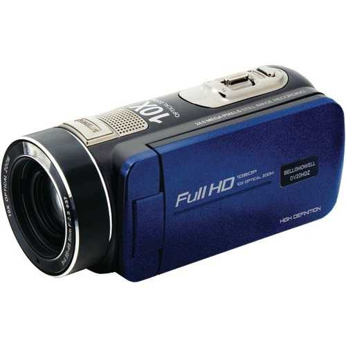 Bell+howell 20.0-megapixel 1080p Ultra-zoom Camcorder (blue) (pack of 1 Ea)