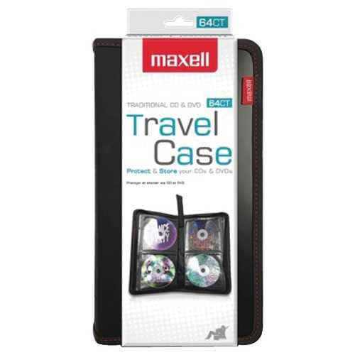 Maxell 64-capacity Cd Storage Case (pack of 1 Ea)