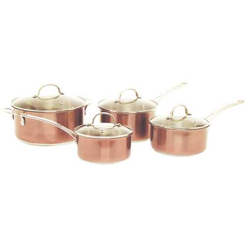 Starfrit 8-piece Copper Cookware Set (pack of 1 Ea)