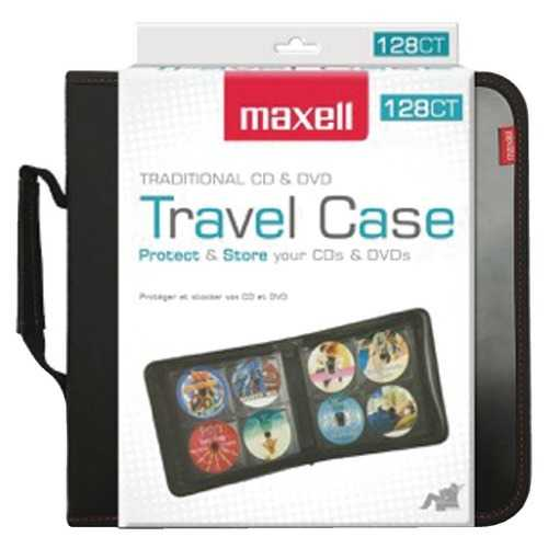 Maxell 128-capacity Cd Storage Case (pack of 1 Ea)