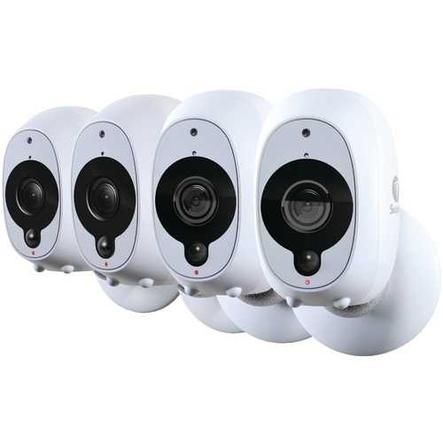 Swann 1080p Full Hd Battery-powered Wire-free Camera (4pk) (pack of 1 Ea)
