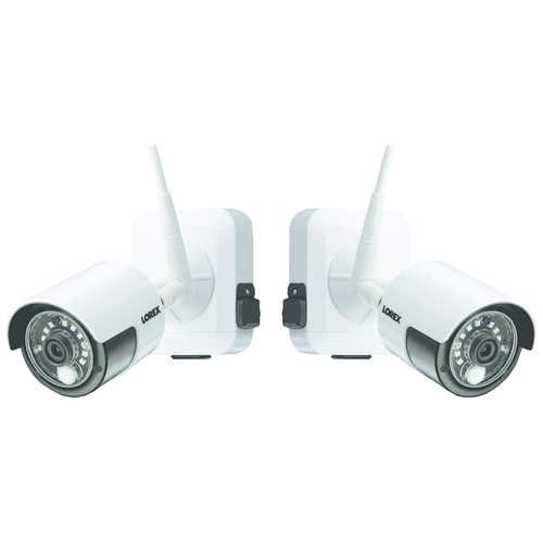 Lorex By Flir Add-on Rechargeable Wire-free 1080p Security Cameras (2 Pack) (pack of 1 Ea)