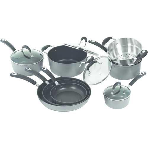 Starfrit La Forge 12-piece Aluminum Cookware Set (pack of 1 Ea)