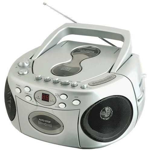 Sylvania Portable Cd Radio Boom Box (pack of 1 Ea)