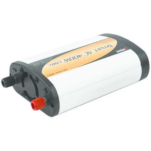 Wagan Tech Smart Ac 400-watt Usb+ Power Inverter (pack of 1 Ea)
