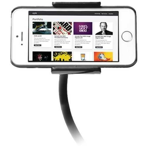 Cta Digital Smartphone & Mini Tablet Adjustable Clip-on Stand (pack of 1 Ea)