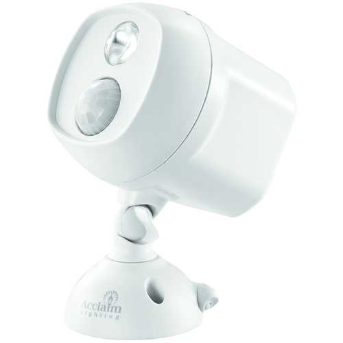 Acclaim Lighting Motion-activated Led Spotlight (dove Gray) (pack of 1 Ea)