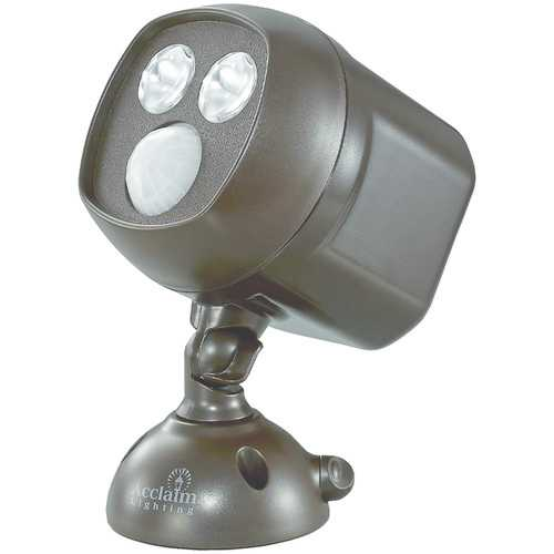 Acclaim Lighting Motion-activated Led Dual Spotlight (bronze) (pack of 1 Ea)