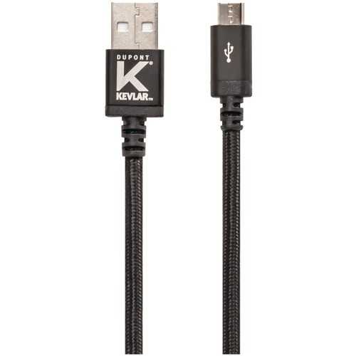 Kevlar Usb Cable With Micro Usb Connector (10ft) (pack of 1 Ea)