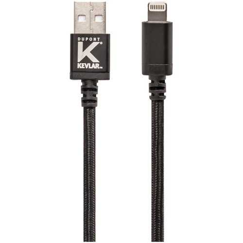 Kevlar Usb Cable With Lightning Connector (10ft) (pack of 1 Ea)