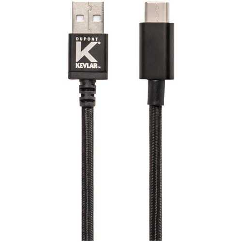 Kevlar 2.0 Usb-a To Usb-c Cable, 6ft (pack of 1 Ea)
