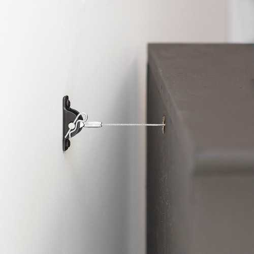 Hangman All-steel Anti-tip Kit For Furniture (pack of 1 Ea)
