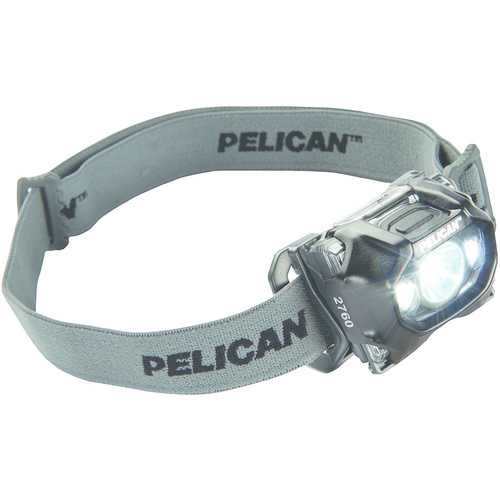 Pelican 204-lumen 2760 Multibeam Led Headlamp (black) (pack of 1 Ea)