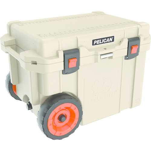 "Pelicanâ""¢ 45-quart Elite Cooler With Built-in Wheels (tan) (pack of 1 Ea)"