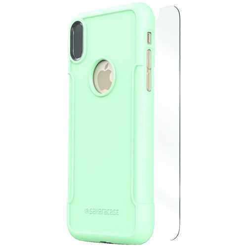 Saharacase Classic Protective Kit For Iphone X (aqua) (pack of 1 Ea)