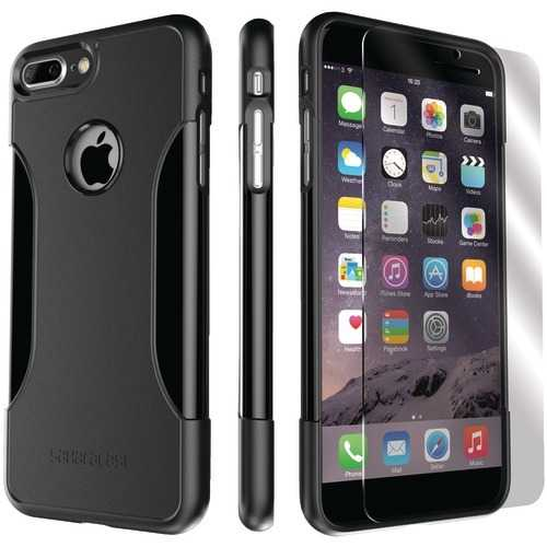 Saharacase Classic Protective Kit For Iphone 8 And 7 Plus (black) (pack of 1 Ea)