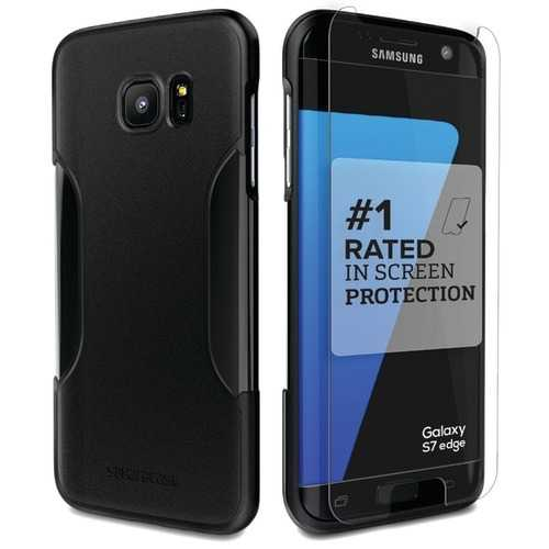 Saharacase Classic Protective Kit For Samsung Galaxy S 7 Edge (black) (pack of 1 Ea)