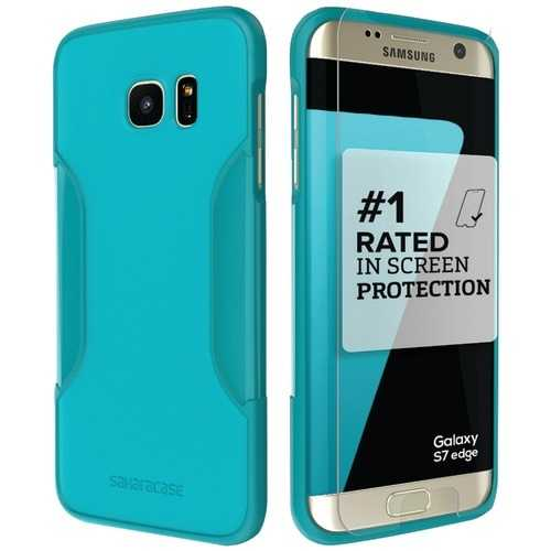 Saharacase Classic Protective Kit For Samsung Galaxy S 7 Edge (oasis) (pack of 1 Ea)