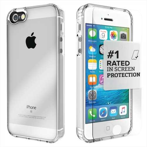 Saharacase Clear Protective Kit For Iphone 5 And 5s And Se (pack of 1 Ea)