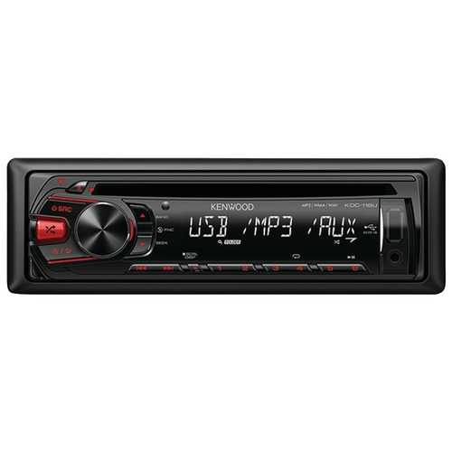 Kenwood Single-din In-dash Mp3 Am And Fm Cd Receiver (pack of 1 Ea)