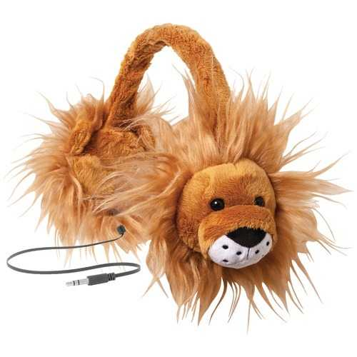 Retrak Retractable Animalz Headphones (lion) (pack of 1 Ea)