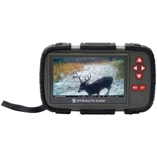 Stealth Cam 720p Touch-screen Sd Card Viewer (pack of 1 Ea)