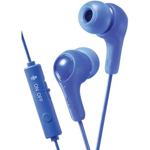 Jvc Gumy Gamer Earbuds With Microphone (blue) (pack of 1 Ea)